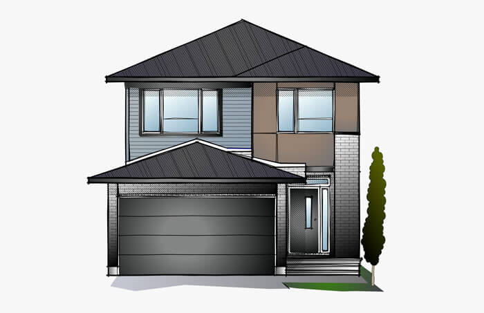 New Ottawa Single Family Home Quick Possession Baxter in EdenWylde, located at 187 Hickstead Way Built By Cardel Homes Ottawa