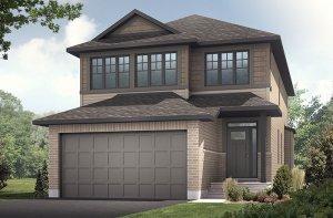 PALOMA BS - Canadiana A1 Elevation - 2,233 sqft, 3-5 Bedroom, 2.5-4 Bathroom - Cardel Homes Ottawa