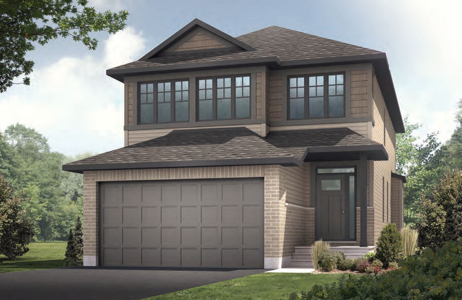 New home in PALOMA in Blackstone in Kanata South, 2,233 SQFT, 3 Bedroom, 2.5 Bath, Starting at 702,000 - Cardel Homes Ottawa