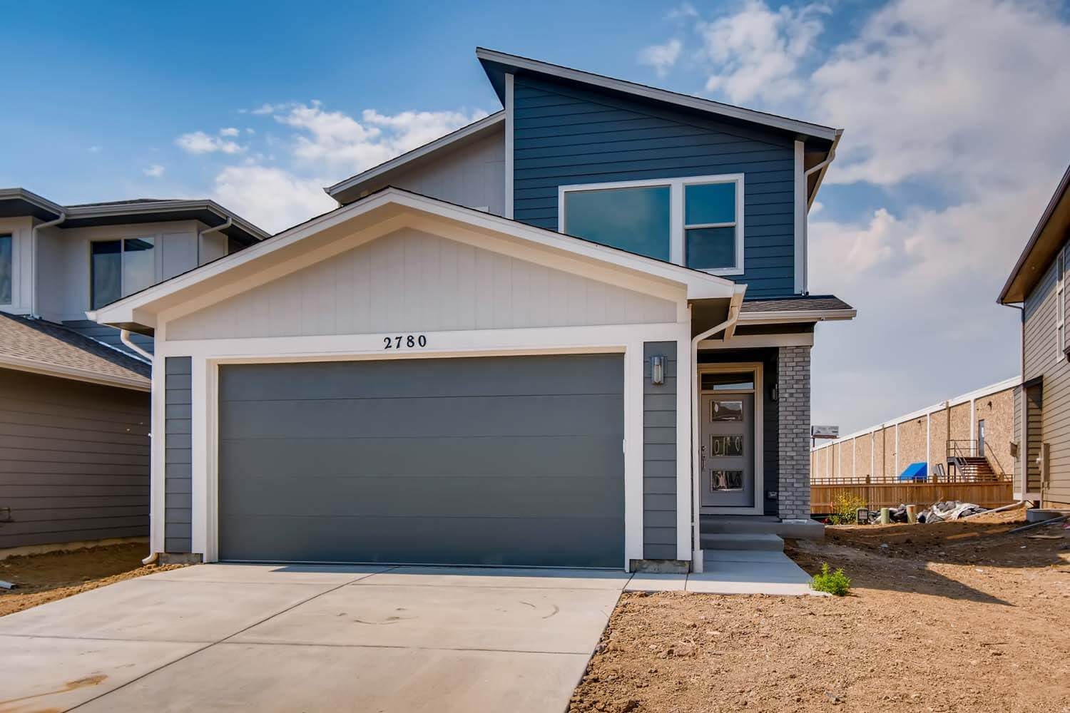 New Denver Single Family Home Quick Possession Jett in Westminster Station, located at 2780 W 68th Avenue, Denver Built By Cardel Homes