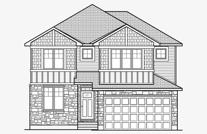 New Ottawa Single Family Home Quick Possession Cornell in Creekside, located at 4 Runnel Court Built By Cardel Homes Ottawa