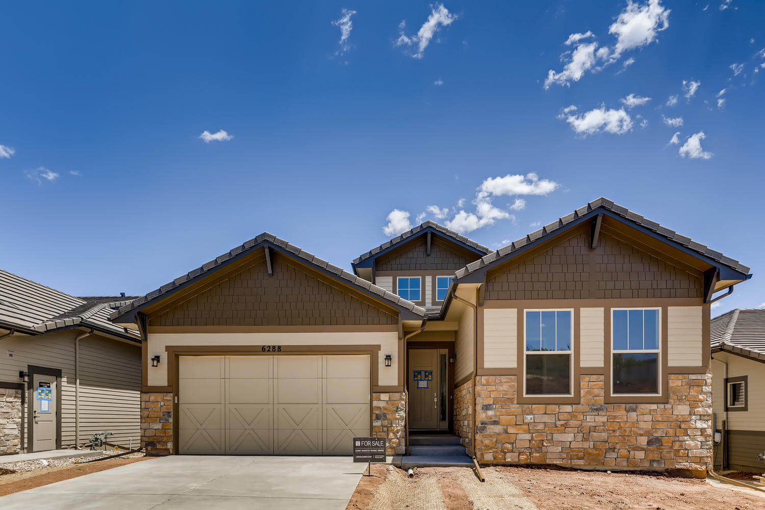 New Denver Single Family Home Quick Possession Pebble Beach in The Ridge, located at 6288 Dakota Ridge Drive Built By Cardel Homes