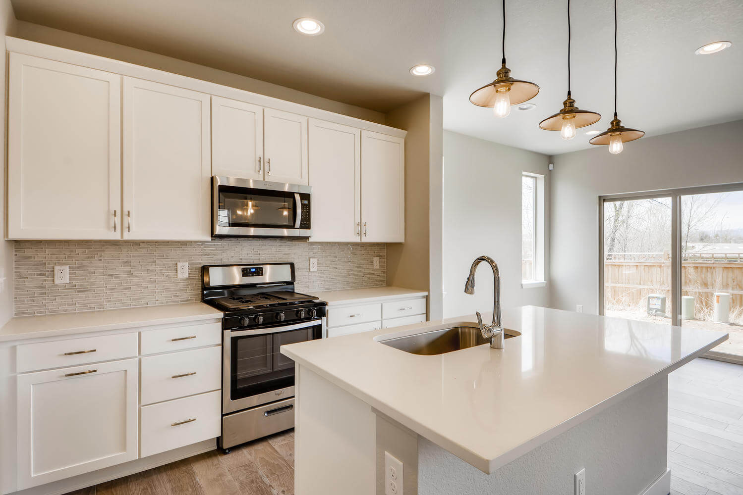 New Denver Single Family Home Quick Possession Aero in Westminster Station, located at 6887 Eliot Street Built By Cardel Homes Denver