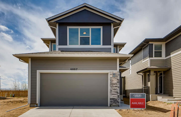 New Denver Single Family Home Quick Possession Aero in Westminster Station, located at 6887 Eliot Street Built By Cardel Homes