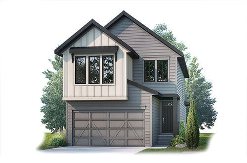 New home in STRAND 2 in Shawnee Park, 1,914 SQFT, 3 Bedroom, 2.5 Bath, Starting at 620,000 - Cardel Homes Calgary