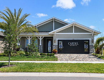 The Brighton 2 - 2,010 sq ft - 3 bedrooms - 2 Bathrooms -  Visit this home in Waterset  - Cardel Homes Tampa