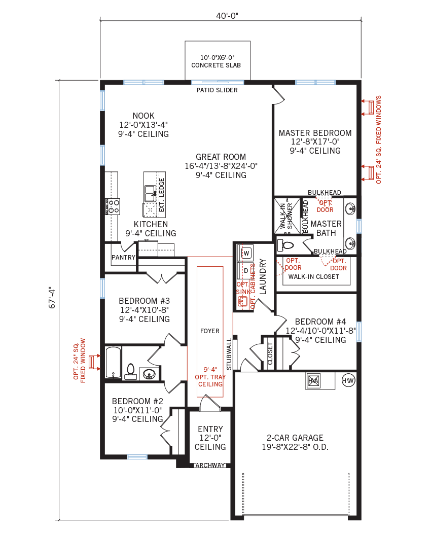 The Brighton home main floor quick possession in Waterset, located at 5807 Silver Sun Drive, Apollo Beach (LOT 32) Tampa Built By Cardel Homes