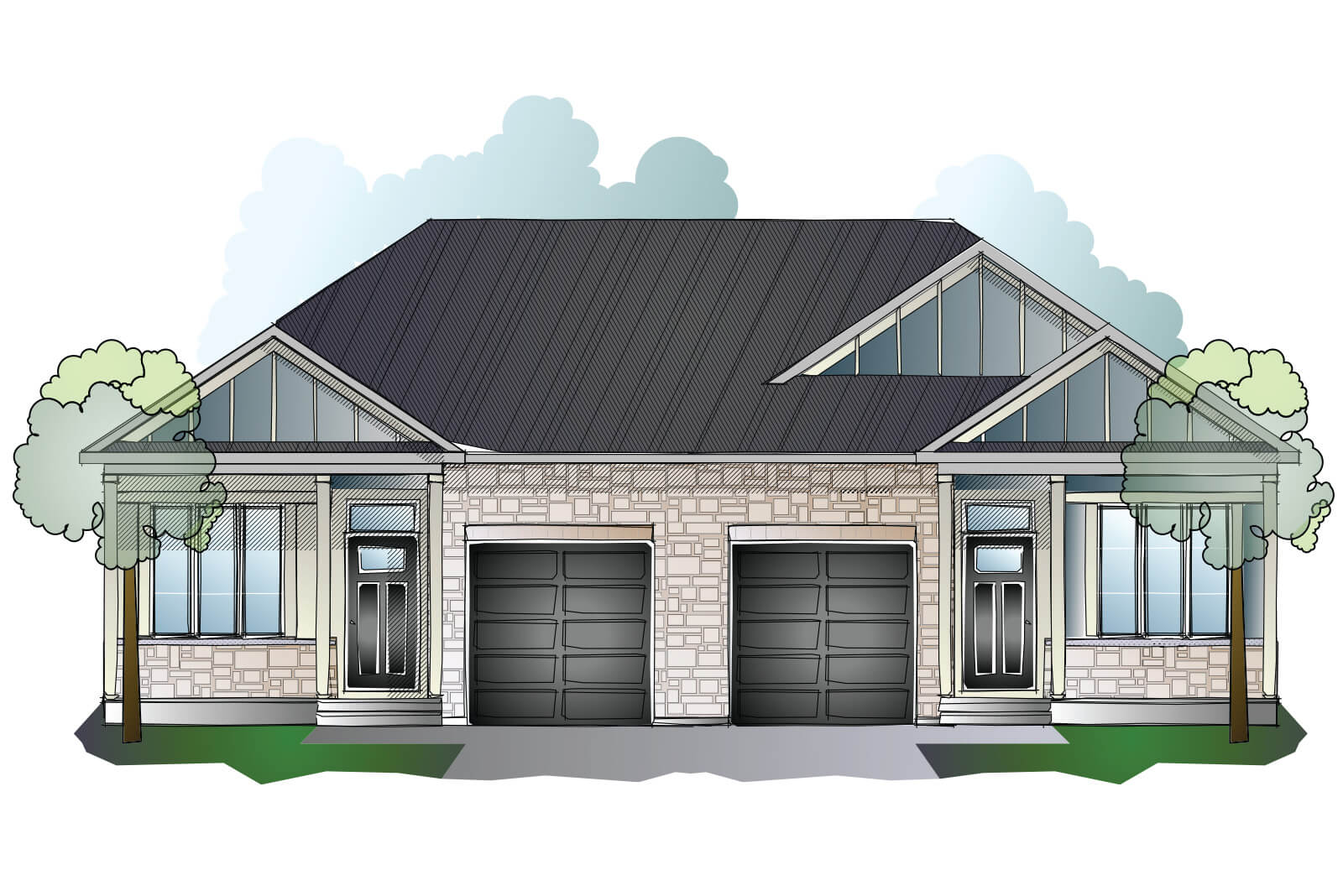 New Ottawa Single Family Home Quick Possession Bryant (Lot 180) in Millers Crossing in Carleton Place, located at 168 Rathwell Street Built By Cardel Homes