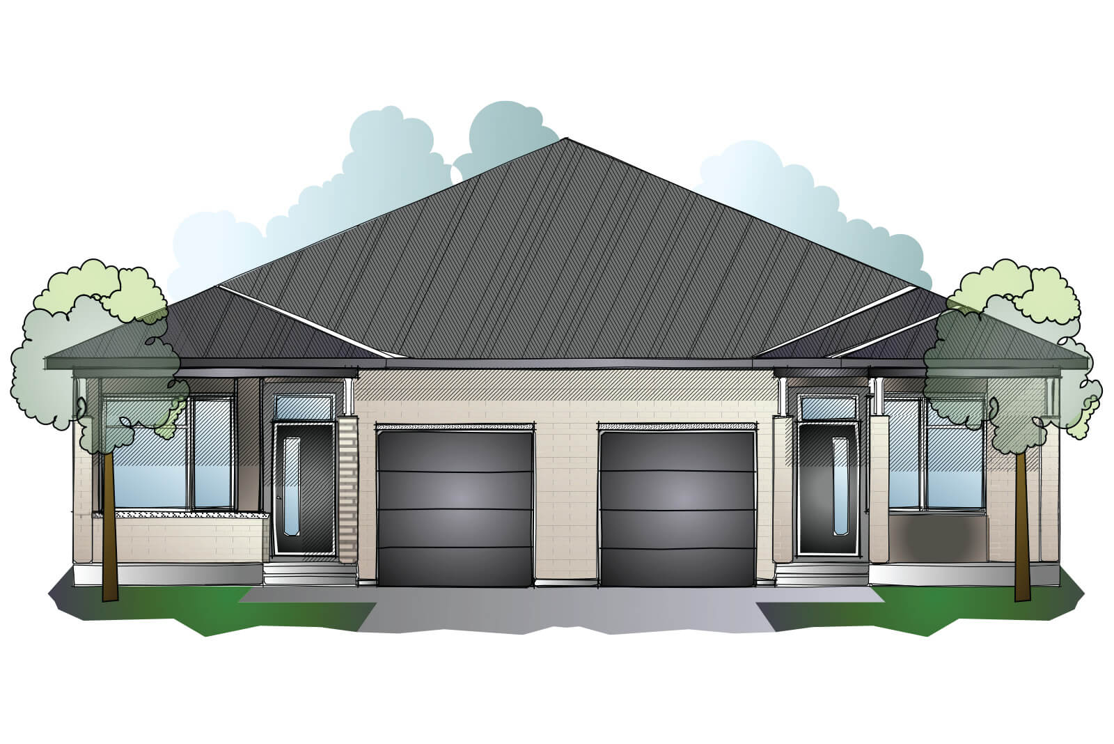 New Ottawa Single Family Home Quick Possession Bryant (Lot 182) in Millers Crossing in Carleton Place, located at 164 Rathwell Street Built By Cardel Homes