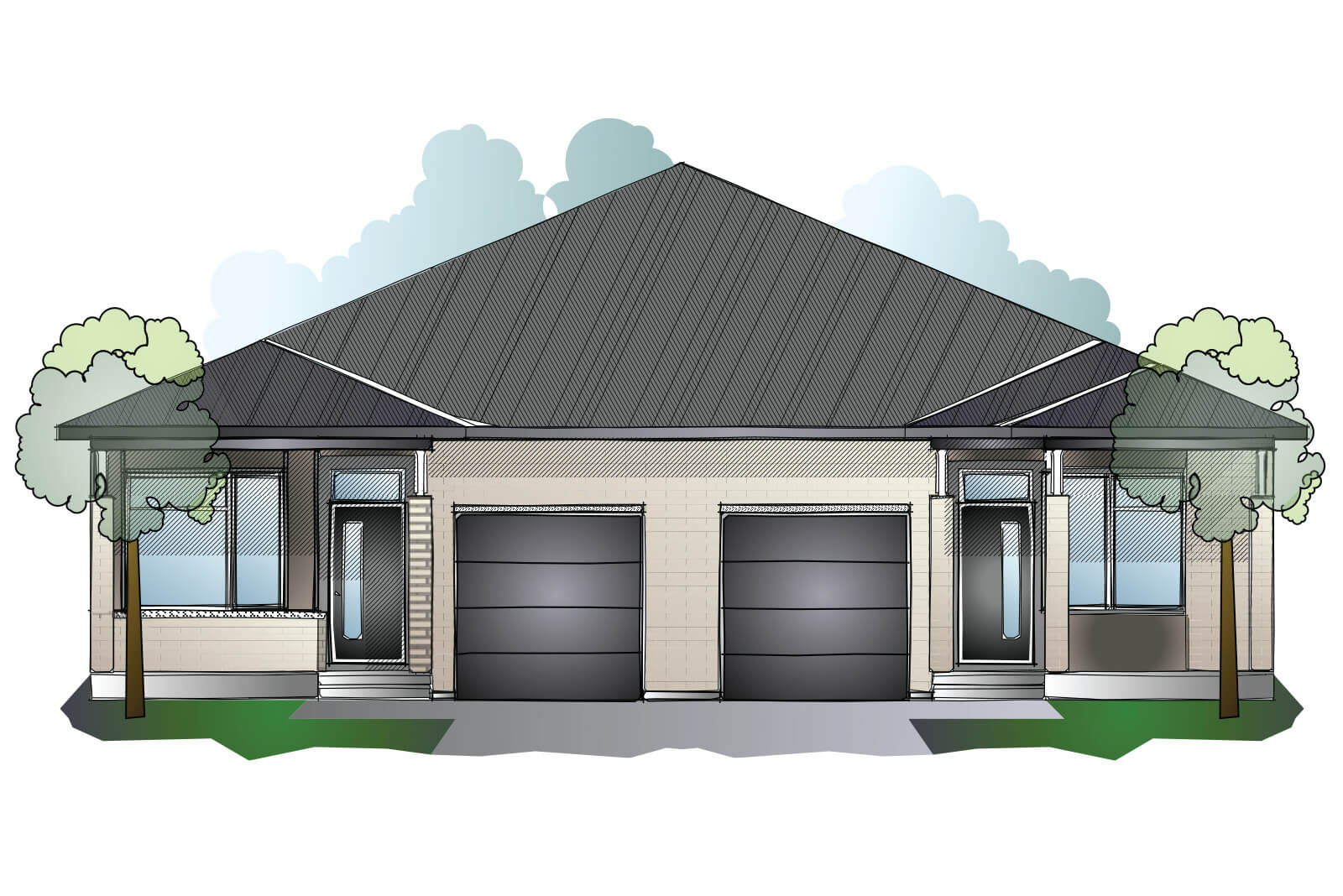 New Ottawa Single Family Home Quick Possession Bryant (Lot 184) in Millers Crossing in Carleton Place, located at 160 Rathwell Street Built By Cardel Homes Ottawa