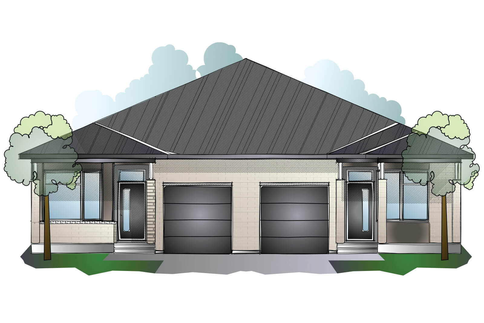 New Ottawa Single Family Home Quick Possession Bryant (Lot 185) in Millers Crossing in Carleton Place, located at 158 Rathwell Street Built By Cardel Homes