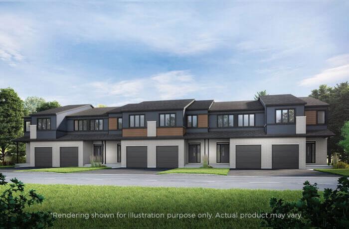 New home in CUSTOM CRANE in Blackstone in Kanata South, 2,051 SQFT, 3 Bedroom, 2.5 Bath, Starting at 499,000 - Cardel Homes Ottawa