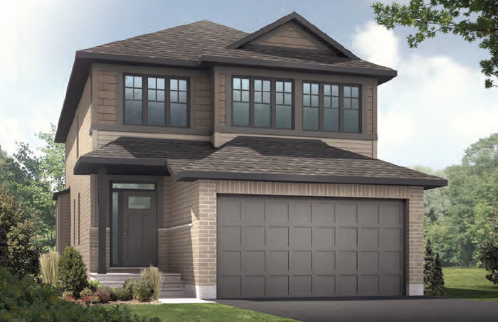 New Ottawa Single Family Home Quick Possession Paloma in EdenWylde, located at 55 Aridus Crescent (Lot 77) Built By Cardel Homes Ottawa