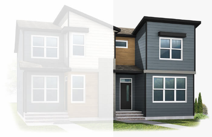 New Calgary Single Family Home Quick Possession Soho 1X in Walden, located at 13 Walcrest Gate Built By Cardel Homes