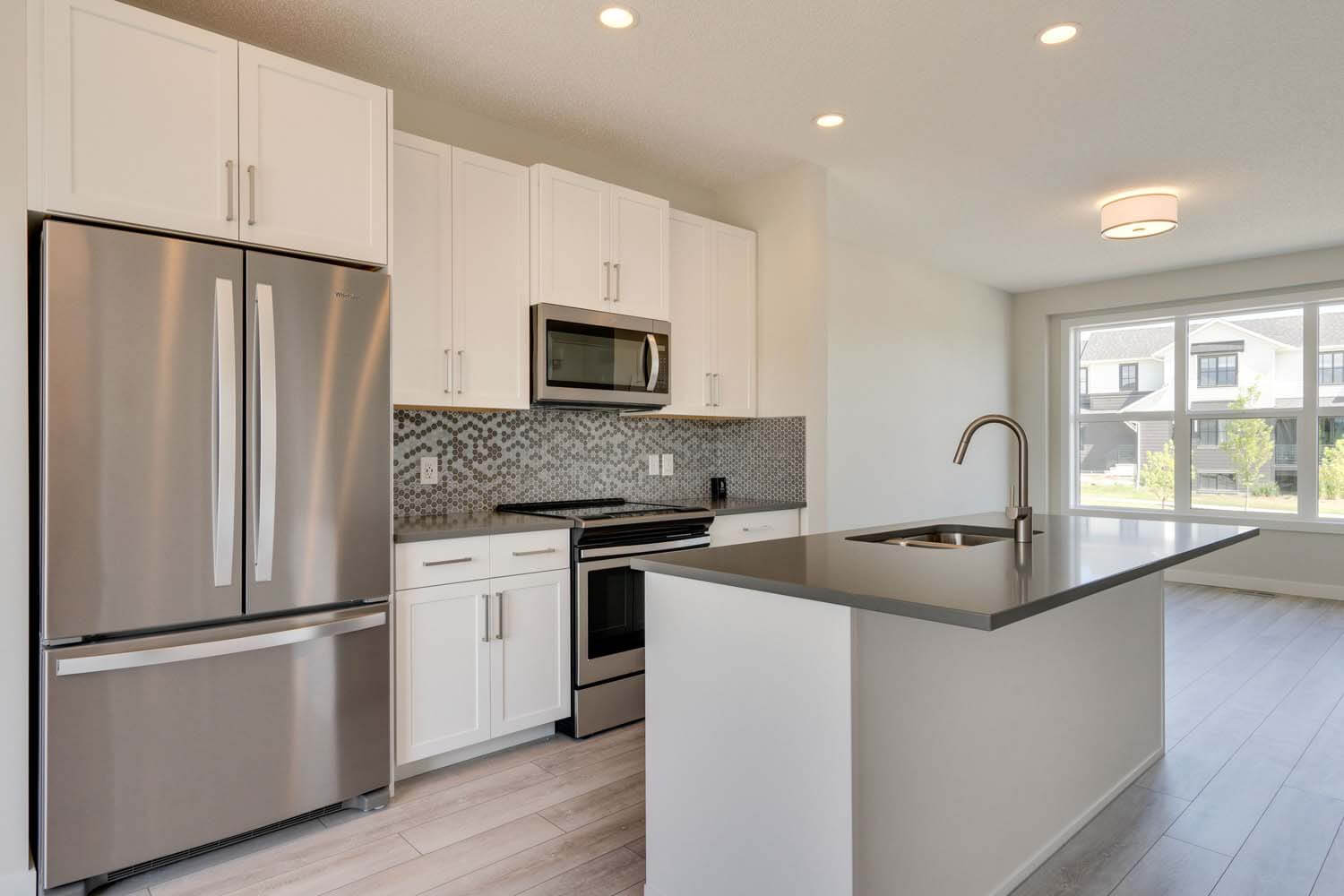 New Calgary Single Family Home Quick Possession Soho 1X in Walden, located at 13 Walcrest Gate Built By Cardel Homes Calgary