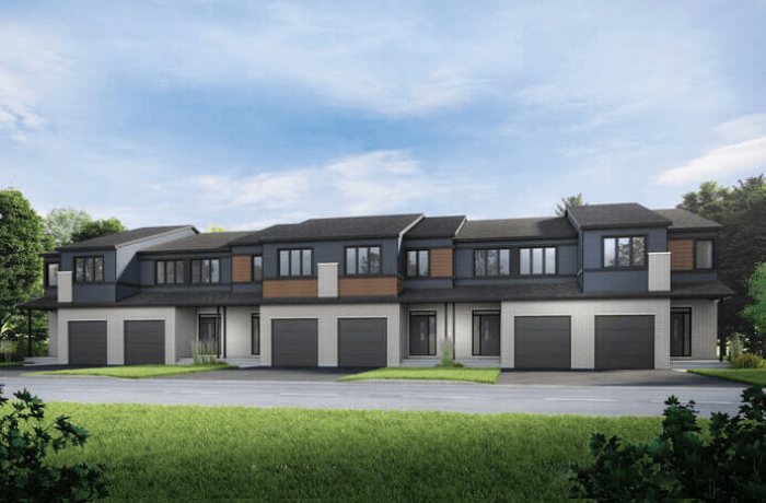 New Ottawa Single Family Home Quick Possession Cardinal in Blackstone in Kanata South, located at 437 Cope Drive Built By Cardel Homes