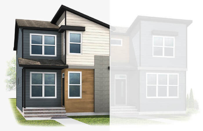 New Calgary Single Family Home Quick Possession Indigo 1 in Walden, located at 9 Walcrest Gate SE Built By Cardel Homes Calgary