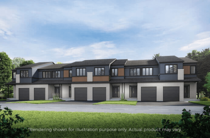 New Ottawa Single Family Home Quick Possession Crane in Blackstone in Kanata South, located at 648 Rouncy Road Built By Cardel Homes Ottawa