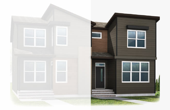 New Calgary Single Family Home Quick Possession Indigo 1 in Walden, located at 69 Walcrest Gate SE Built By Cardel Homes Calgary