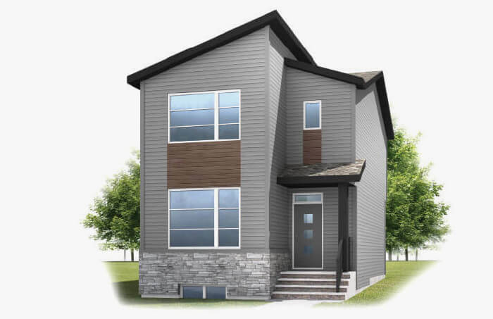 New Calgary Single Family Home Quick Possession Alder 2 in Walden, located at 73 WALCREST GATE SE Built By Cardel Homes Calgary