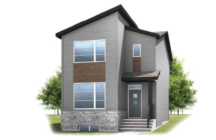 New Calgary Single Family Home Quick Possession Alder 2 in Walden, located at 73 WALCREST GATE SE Built By Cardel Homes