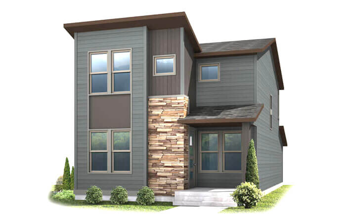 New Denver Single Family Home Quick Possession Voletta in Westminster Station, located at 6925 Canosa St, Denver Built By Cardel Homes
