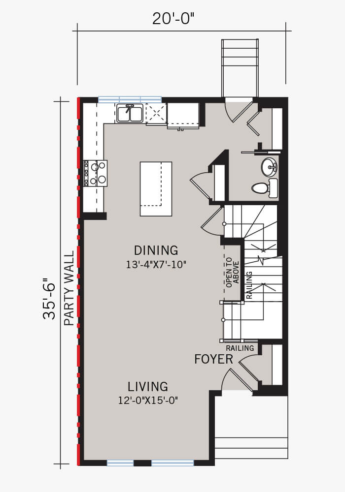 The Cobalt 2 home main floor quick possession in Walden, located at 108 Walgrove Drive Calgary Built By Cardel Homes