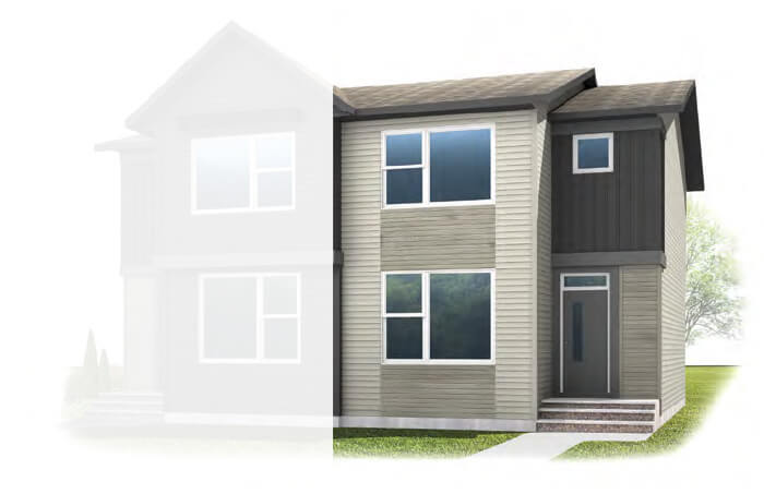 New Calgary Single Family Home Quick Possession Cobalt 2 in Walden, located at 108 Walgrove Drive Built By Cardel Homes