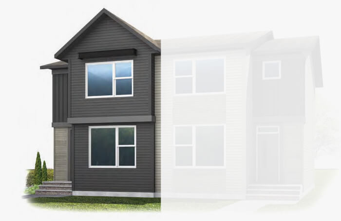 New Calgary Single Family Home Quick Possession Cobalt 3 in Walden, located at 112 Walgrove Drive  Built By Cardel Homes Calgary