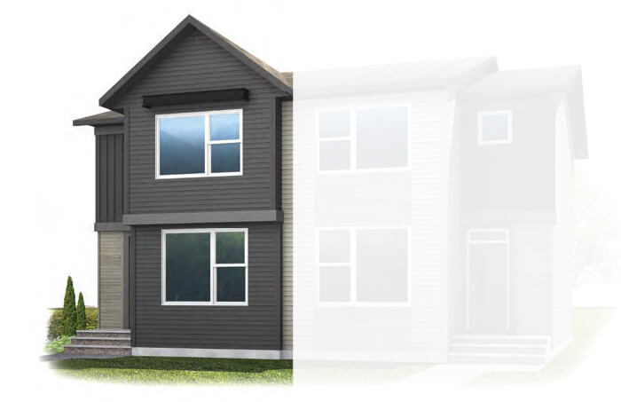 New Calgary Single Family Home Quick Possession Cobalt 3 in Walden, located at 112 Walgrove Drive  Built By Cardel Homes