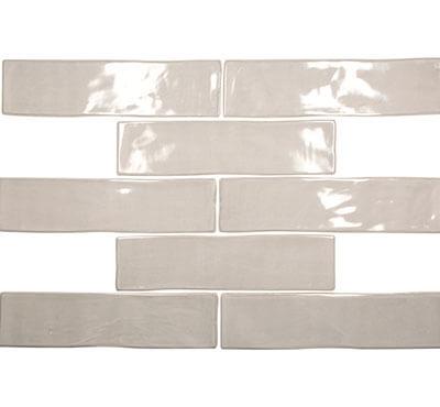 Gulf Tile Akua Shiny Topo 3x12 Herringbone Lay