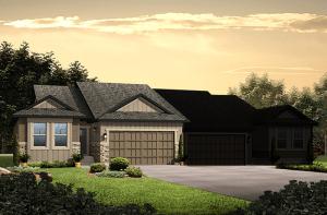 Pine - LC - Elevation B Elevation - 1,627 sqft, 2 Bedroom, 2 Bathroom - Cardel Homes Denver