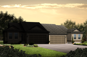 Maple - LC - Elevation B Elevation - 1,532 sqft, 2 Bedroom, 2 Bathroom - Cardel Homes Denver