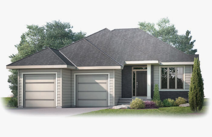 New Calgary Single Family Home Quick Possession Custom Home in Shawnee Park, located at 56 Shawnee Green SW Built By Cardel Homes Calgary