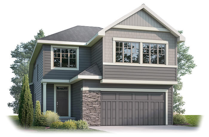 New home in WINSLOW in Shawnee Park, 2,410 SQFT, 3 Bedroom, 2.5 Bath, Starting at 810,000 - Cardel Homes Calgary
