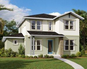 Brilliance - Elev A Elevation - 2,842 sqft, 5-6 Bedroom, 3 Bathroom - Cardel Homes Tampa