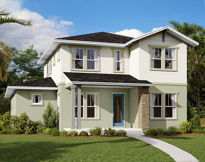 New home in BRILLIANCE in Laureate Park in Lake Nona, 2,842 SQFT, 5-6 Bedroom, 3 Bath, Starting at 515,990 - Cardel Homes Tampa