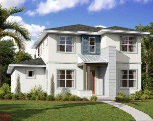 Brilliance - Elev B Elevation - 2,842 sqft, 5-6 Bedroom, 3 Bathroom - Cardel Homes Tampa