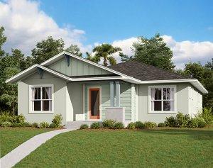 Elation - Elev A Elevation - 2,101 sqft, 3-4 Bedroom, 2 Bathroom - Cardel Homes Tampa