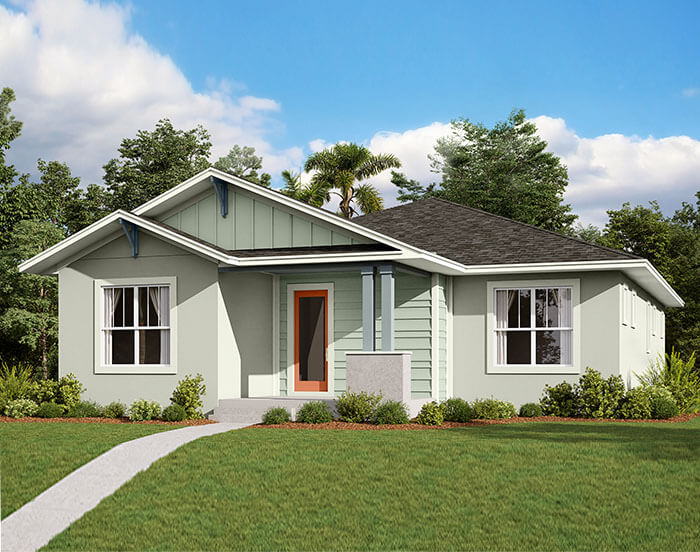 New home in ELATION in Laureate Park in Lake Nona, 2,101 SQFT, 3-4 Bedroom, 2 Bath, Starting at 454,990 - Cardel Homes Tampa