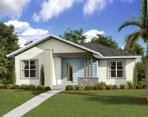 Elation - Elev B Elevation - 2,101 sqft, 3-4 Bedroom, 2 Bathroom - Cardel Homes Tampa
