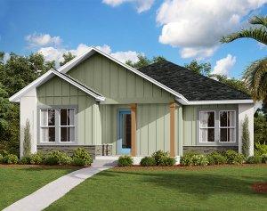 Elation - Elev C Elevation - 2,101 sqft, 3-4 Bedroom, 2 Bathroom - Cardel Homes Tampa