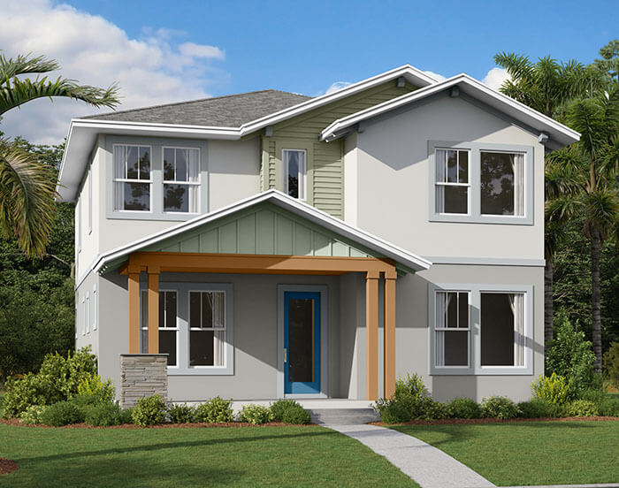 New home in HARMONY in Laureate Park in Lake Nona, 2,716 SQFT, 4-5 Bedroom, 3 Bath, Starting at 514,990 - Cardel Homes Tampa