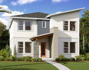 Harmony-LP - Elev B Elevation - 2,716 sqft, 4-5 Bedroom, 3 Bathroom - Cardel Homes Tampa