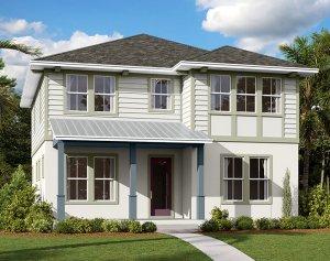 Harmony-LP - Elev C Elevation - 2,716 sqft, 4-5 Bedroom, 3 Bathroom - Cardel Homes Tampa