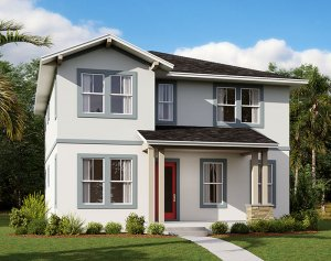 Liberty - Elev A Elevation - 2,445 sqft, 4-5 Bedroom, 3 Bathroom - Cardel Homes Tampa
