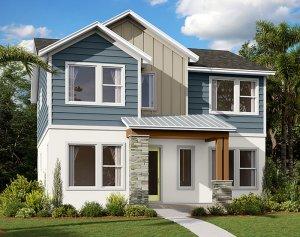 Liberty - Elev C Elevation - 2,445 sqft, 4-5 Bedroom, 3 Bathroom - Cardel Homes Tampa
