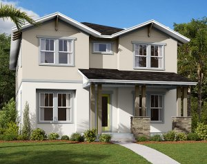 Symphony - Elev A Elevation - 3,125 sqft, 4-5 Bedroom, 3 Bathroom - Cardel Homes Tampa