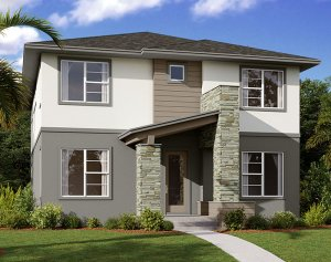 Symphony - Elev B Elevation - 3,125 sqft, 4-5 Bedroom, 3 Bathroom - Cardel Homes Tampa