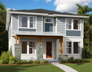 Symphony - Elev C Elevation - 3,125 sqft, 4-5 Bedroom, 3 Bathroom - Cardel Homes Tampa
